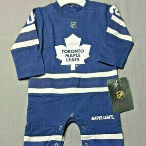 NHL Toronto Maple Leafs Baby Jump Suit